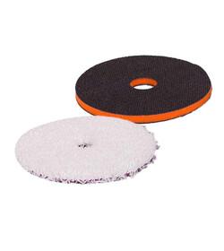 Zvizzer Microfiber Pad 135mm + Interface Orange 130 - zestaw przekladka dystansowa i pad mikrofibrowy