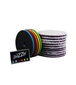 ZviZZer – zestaw promocyjny 10x Microfiber Pads 135mm + 5x Interface Pads 135mm