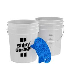 Shiny Garage Wash Bucket Blue - wiadro detailingowe