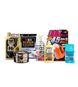Soft99 Wash&Wax Set Dark zestaw do czyszczenia karoserii