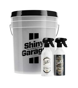 Shiny Garage Mystery Bucket XL BLACK EDITION - zestaw wiadro + kosmetyki