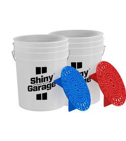 Shiny Garage Wash Bucket Set - zestaw wiader