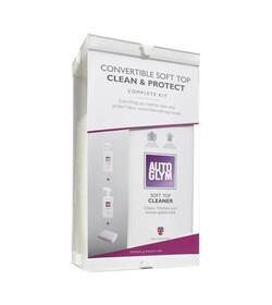 Autoglym Convertible Soft Top Clean Protect Complete KIT - zestaw do czyszczenia i impregnacji miękkich dachów cabrio