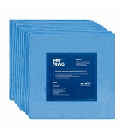 MR RAG 30x30cm blue 250gsm 12-pack mikrofibra niebieska