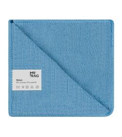 MR RAG 30x30cm blue 250gsm mikrofibra niebieska