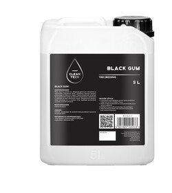 CleanTech Black Gum 5l - dressing do opon i plastików zewnątrznych