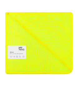 MR RAG 30x30cm yellow 250gsm mikrofibra żółta