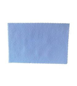 ZviZZer Applicator cloth white 15 x 10 cm - suede do aplikacji powłok
