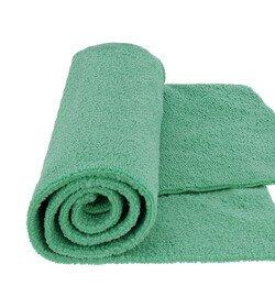 MR RAG 40x40cm GREEN edgeless 380GSM mikrofibra zielona bezszwowa - docieranie powłok, QD, wosków