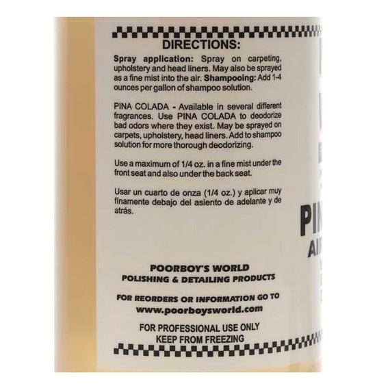 Poorboy's Air Freshener Pina Colada 946ml - zapach
