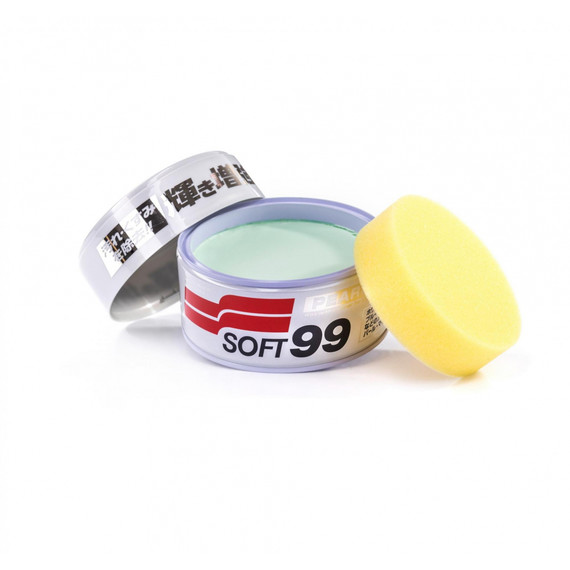 Soft99 Pearl & Metalic Soft Wax 320g - wosk do jasnych lakierów