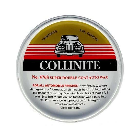 Collinite #476S trwały wosk 266ml + aplikator + mikrofibra zestaw