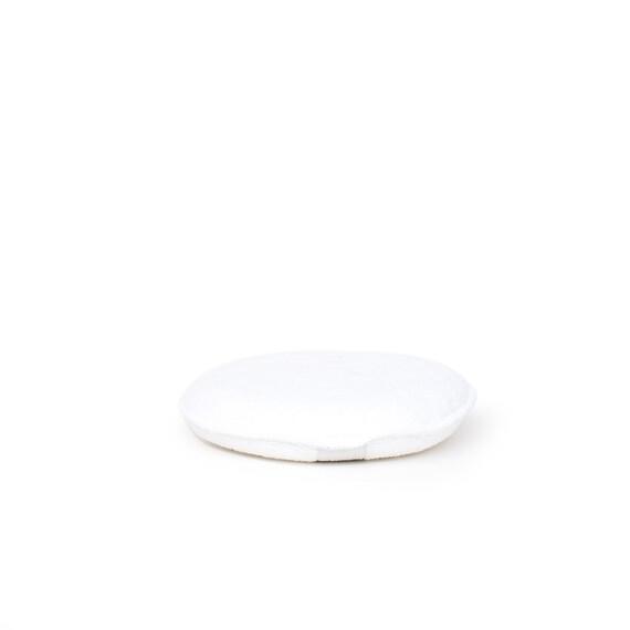 Aplikator z gumką biały
