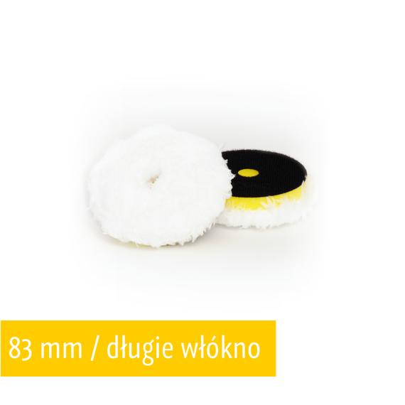 NAT Pad Mikrofibrowy Mocno Agresywny Twardy (żółty) 83mm DA