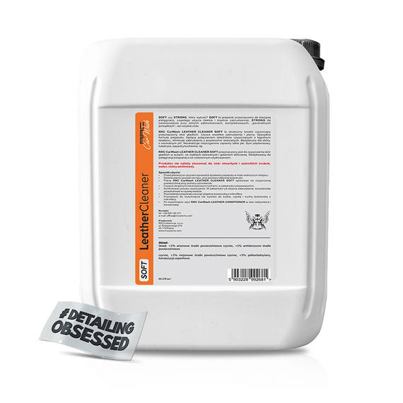 RRC Car Wash LEATHER CLEANER SOFT 5L