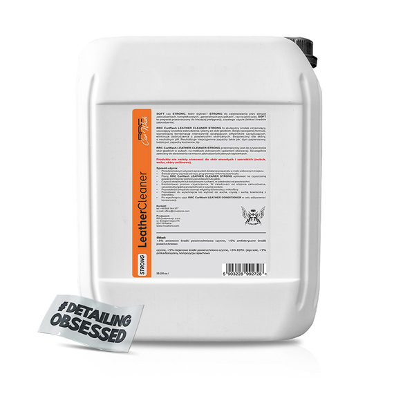RRC Car Wash LEATHER CLEANER STRONG 5L
