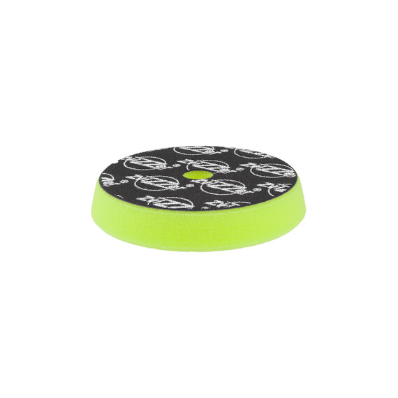 ZviZZer Trapez Green Pad Ultra Fine Ø145/25/125mm,  zielona gąbka polerska ultra wykańczająca