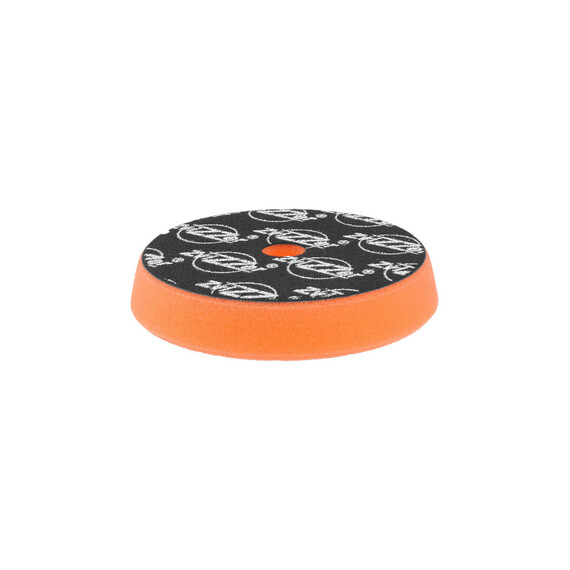 ZviZZer Trapez Orange Pad Medium Cut Ø145/25/125mm, pomarańczowa gąbka polerska one step