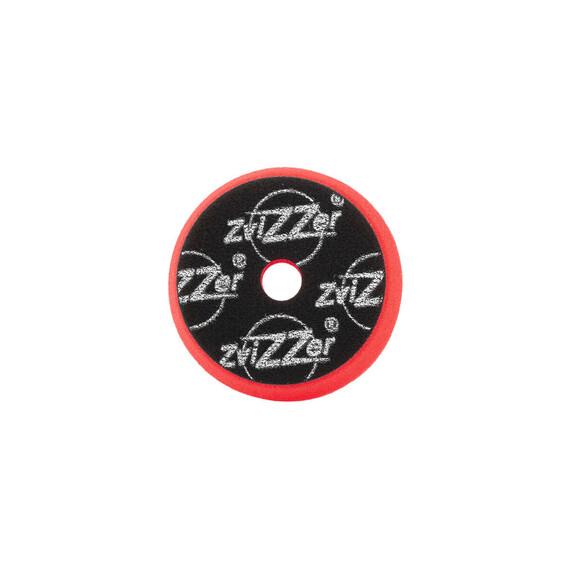 ZviZZer Trapez Red Pad Heavy Cut Ø95/25/80mm, czerwona gąbka polerska tnąca