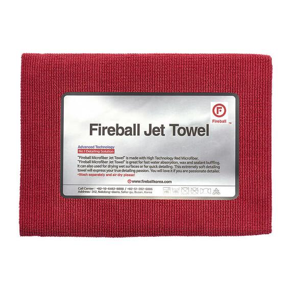 FIREBALL Jet Towel Red - ręcznik