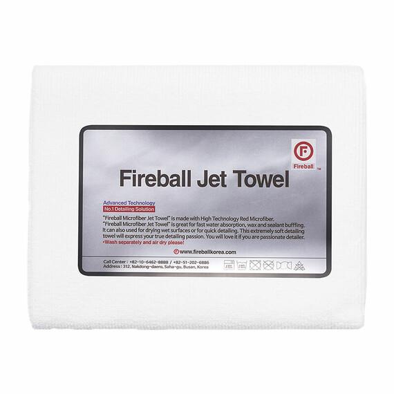 FIREBALL Jet Towel White - ręcznik