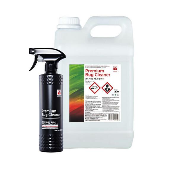 BINDER Premium Bug Cleaner 5L+500ml zestaw - usuwanie owadów, zabrudzeń drogowych