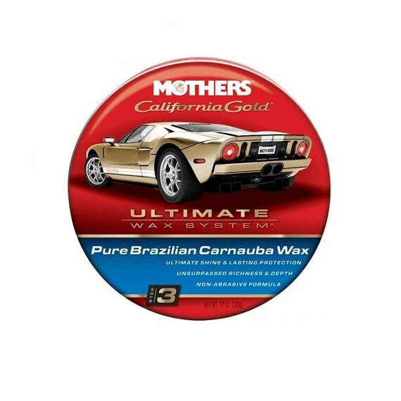 Mothers California Gold Pure Carnauba Wax 340g - wosk w paście z carnaubą
