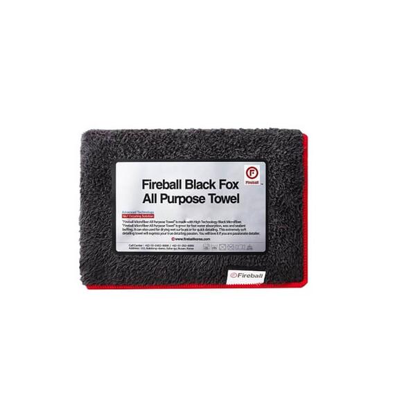FIREBALL Black Fox All Purpose Towel 70x45cm - ręcznik