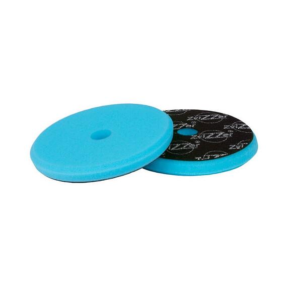 ZviZZer EVO Blue Pad Pre-Cut Ø145/15/125mm, niebieska gąbka polerska mocno tnąca