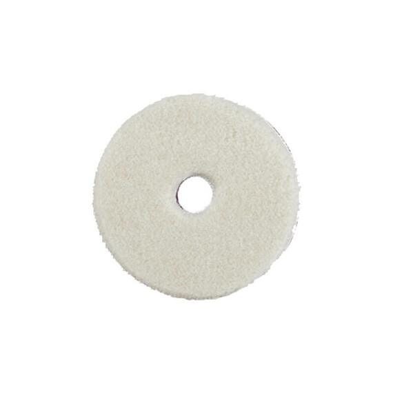 """ZviZZer """"Doodle"""" Wool-Pad white Ø 80/15/80mm, pad wełniany biały DA, futro polerskie"""
