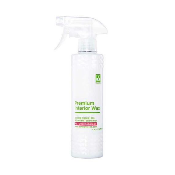 BINDER Premium Interior Wax 500ml - zabezpieczanie plastików oraz skóry