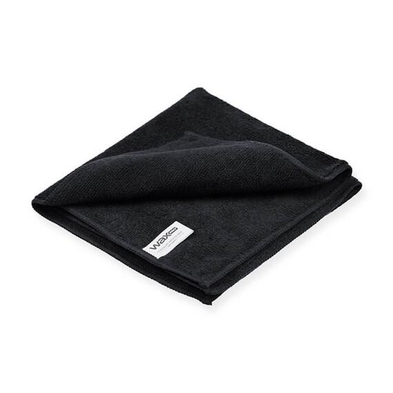 Waxpro Premium mikrofibra czarna 40x40