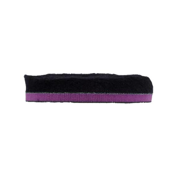 """ZviZZer """"Doodle"""" Wool-Pad Black Ø 135/25/135mm, pad wełniany czarny,  futro polerskie"""