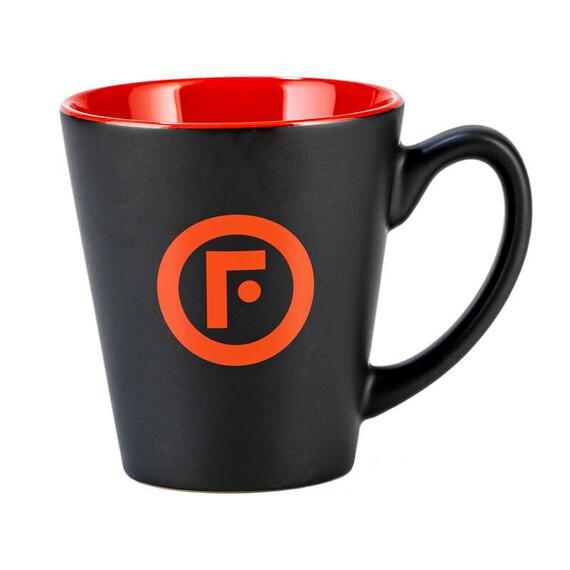 FIREBALL - czarny matowy kubek z logo