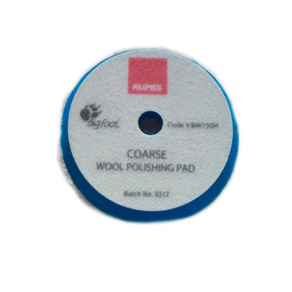 RUPES Tarcza polerska z wełny 130/150mm Blue wool niebieska coarse