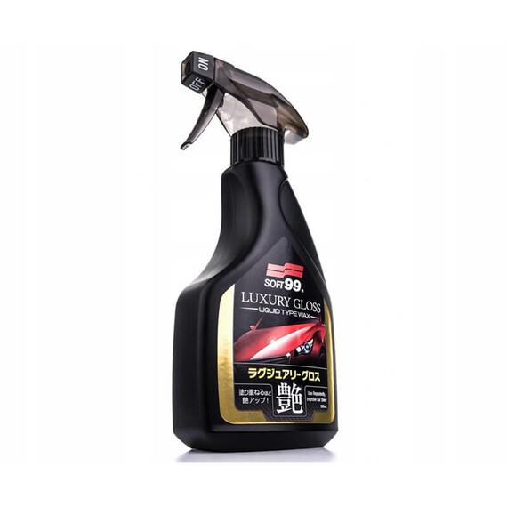 Soft99 Luxury gloss quick detailer 500 ml - środek do zabezpieczania lakieru