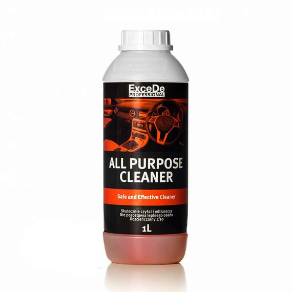 Excede All Purpose Cleaner 1L - skoncentrowany, uniwersalny środek czyszczący
