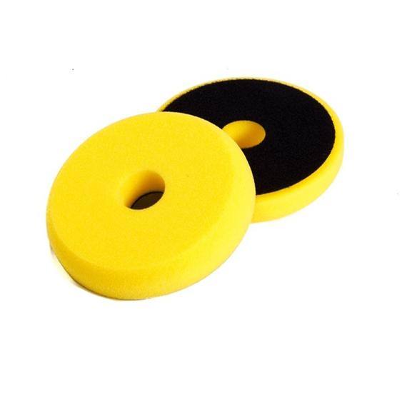 NAT Żółta Średnia gąbka polerska 135mm DA