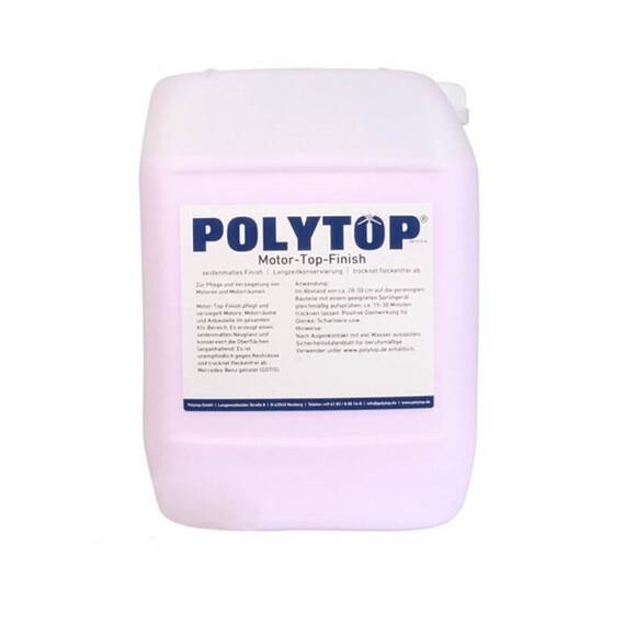 Polytop Motor Top Finish 10l - środek do konserwacji silników i nadkoli