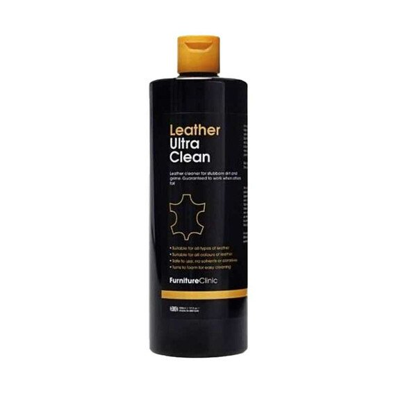 Furniture Clinic Leather Ultra Clean 500ml - środek do czyszczenia skóry