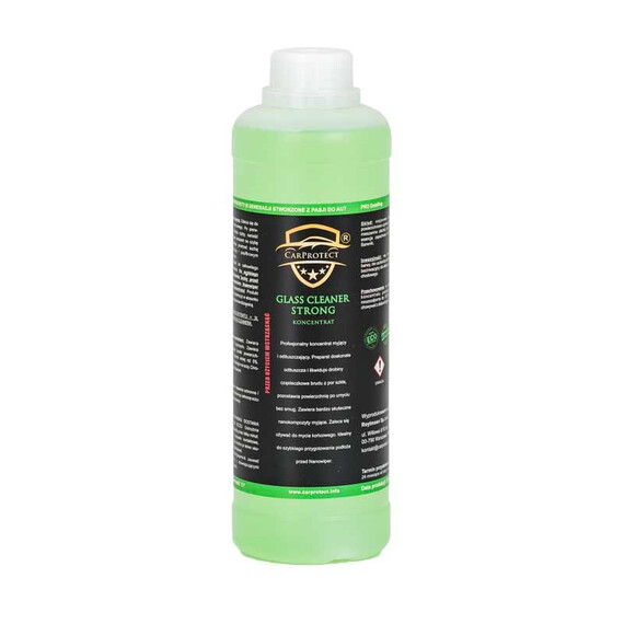CarProtect Glass Cleaner Strong 1l koncentrat