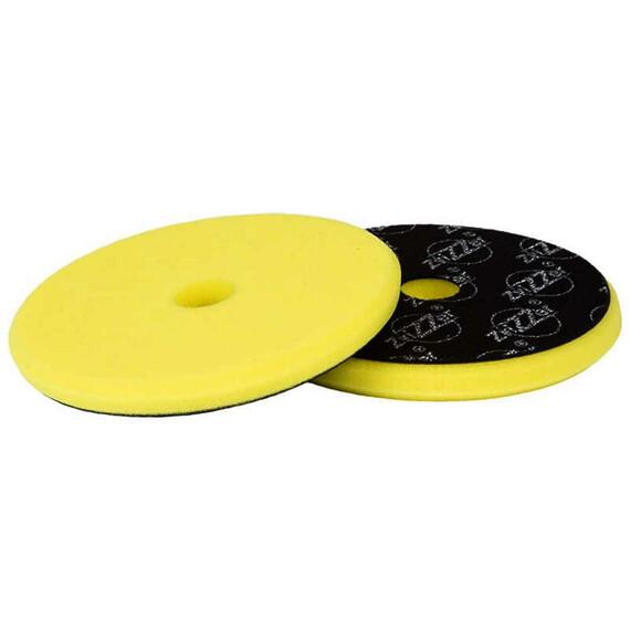 ZviZZer EVO Yellow Fine Cut Ø145/15/125mm, żółta gąbka polerska wykańczająca