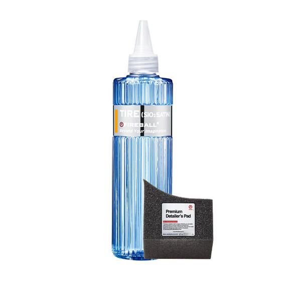 FIREBALL TIRE SATIN 500ml – hydrofobowy dressing do opon z SiO2, wykończenie satynowe