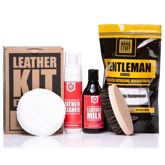 Good Stuff Leather KIT - zestaw do tapicerki skórzanej