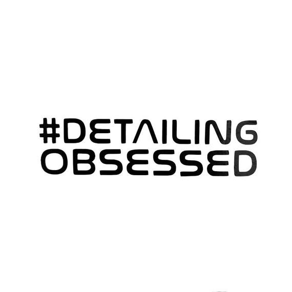 Naklejka #DETAILING OBSESSED