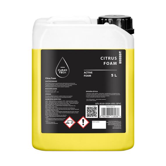 CleanTech Citrus Foam 5L - piana aktywna