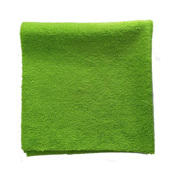 ZviZZer Microfiber Cloth Green 10 pieces mikrofibra bezszwowa